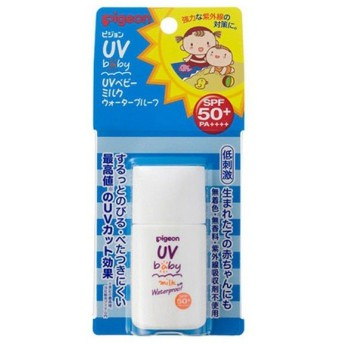 ピジョン UVベビーミルクウォータープルーフ SPF50・PA++++ 20g 1個