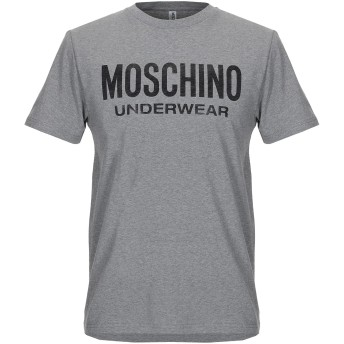 《セール開催中》MOSCHINO メンズ アンダーTシャツ 鉛色 XS コットン 98% / ポリウレタン 2%