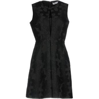 《セール開催中》BLUGIRL BLUMARINE レディース ミニワンピース&ドレス ブラック 40 アセテート 47% / ポリエステル 46% / アクリル 7%