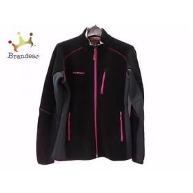 マムート MAMMUT ブルゾン サイズL メンズ 美品 黒×ダークグレー×ピンク 冬物 新着 20190416