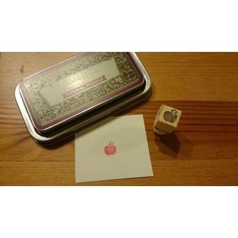 No.286 ミニはんこ りんご