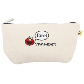 ビバハート(VIVA HEART) セサミコラボポーチ 1 016-89401-006 (Lady's)