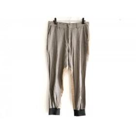 【中古】 ツモリチサト TSUMORI CHISATO パンツ サイズ2 M レディース グレー ベージュ ダークブラウン