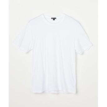 トゥモローランド リュクス ジャージークルーネックTシャツ MELJ3199 メンズ 11ホワイト 3(LL) 【TOMORROWLAND】