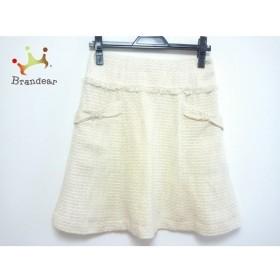 アプワイザーリッシェ スカート サイズ2 M レディース アイボリー×白×ゴールド     スペシャル特価 20190801