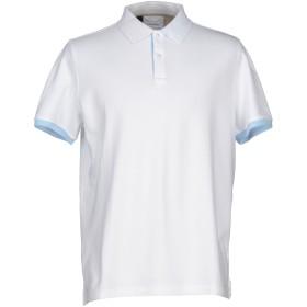 《セール開催中》HERITAGE メンズ ポロシャツ ホワイト 56 コットン 95% / ポリウレタン 5%