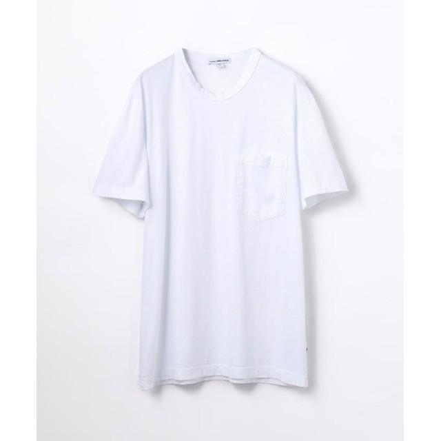 トゥモローランド コットン ポケット付きTシャツ MSX3349G メンズ 11ホワイト 0(S) 【TOMORROWLAND】
