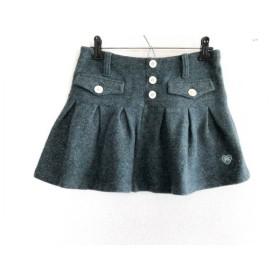 【中古】 パーリーゲイツ PEARLY GATES ミニスカート サイズ0 XS レディース グリーン オレンジ マルチ