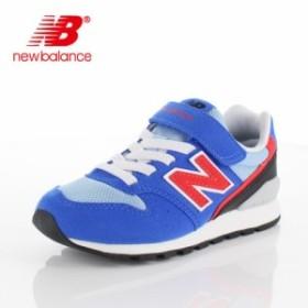 ニューバランス キッズ スニーカー new balance YV996 BLR BLUE/RED 通学 体育