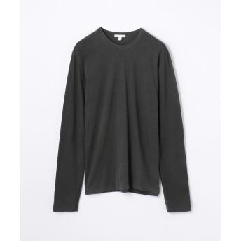 トゥモローランド クルーネック長袖Tシャツ MLJ3351 メンズ チャコールグレー 0(S) 【TOMORROWLAND】