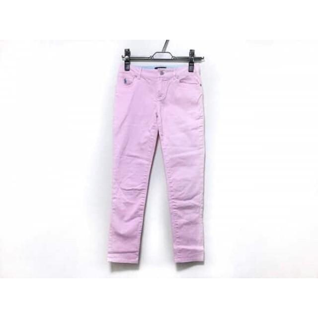 【中古】 ポロラルフローレン POLObyRalphLauren パンツ サイズ12 L レディース ピンク 子供服