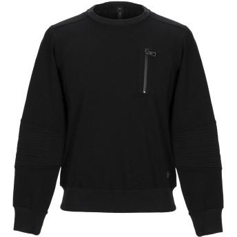 《セール開催中》MESSAGERIE メンズ T シャツ ブラック M レーヨン 66% / ナイロン 29% / ポリウレタン 5%