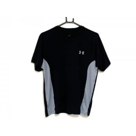 【中古】 アンダーアーマー UNDER ARMOUR 半袖Tシャツ メンズ 黒 グレー