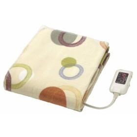 日本製 電気綿敷毛布
