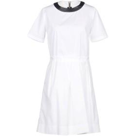 《期間限定 セール開催中》BAND OF OUTSIDERS レディース ミニワンピース&ドレス ホワイト 1 コットン 100%