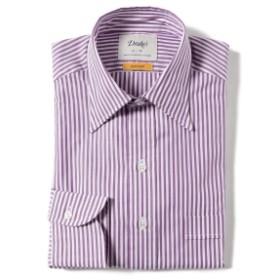 Drake's / 別注 ロンドンストライプ レギュラーカラーシャツ メンズ ドレスシャツ PURPLE/003 38