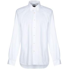 《期間限定 セール開催中》LIU JO MAN メンズ シャツ ホワイト 42 コットン 100%