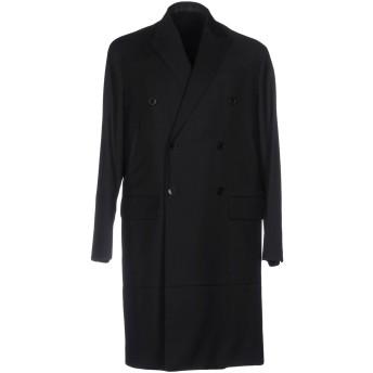 《期間限定セール開催中!》VALENTINO メンズ コート ブラック 50 ウール 84% / モヘヤ 16%