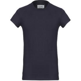 《期間限定 セール開催中》MAISON MARGIELA メンズ T シャツ ダークブルー 46 コットン 100%