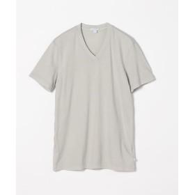 トゥモローランド コットン VネックTシャツ MLJ3352 メンズ 15グレー 1(M) 【TOMORROWLAND】