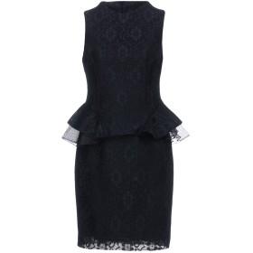 《期間限定 セール開催中》SILVIAN HEACH レディース ミニワンピース&ドレス ブラック L ポリエステル 100%