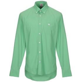 《期間限定セール開催中!》MURPHY & NYE メンズ シャツ グリーン M コットン 100%