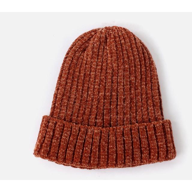 帽子全般 - AZUL BY MOUSSY モール糸リブニットワッチ