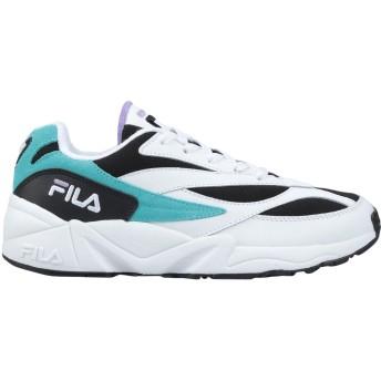 《セール開催中》FILA レディース スニーカー&テニスシューズ(ローカット) ホワイト 36 革 / 紡績繊維 V94M low wmn