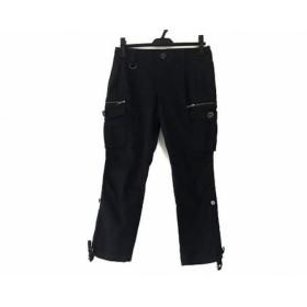 【中古】 バーバリーロンドン Burberry LONDON パンツ サイズ36 M レディース ネイビー