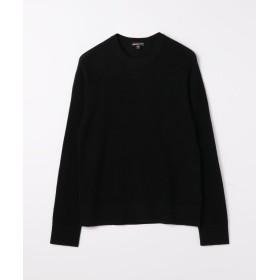 トゥモローランド エアーカシミヤサーマル プルオーバー MOM3687 メンズ 19ブラック 2(L) 【TOMORROWLAND】