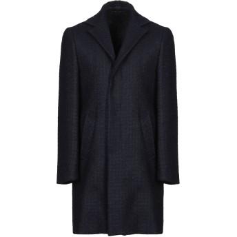 《9/20まで! 限定セール開催中》BRIAN DALES メンズ コート ダークブルー 46 毛(アンゴラ) 78% / モヘヤ 20% / ナイロン 2%