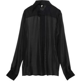 《セール開催中》DONDUP レディース シャツ ブラック 40 シルク 100%