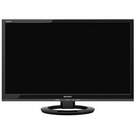 【中古】SHARP 22V型 LED液晶テレビ AQUOS LC-22K30-B ブラック