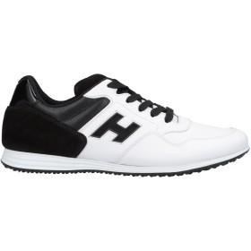 《期間限定セール開催中!》HOGAN メンズ スニーカー&テニスシューズ(ローカット) ホワイト 6 革 / 紡績繊維