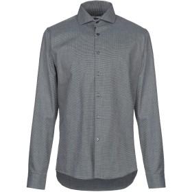 《期間限定セール開催中!》MR MASSIMO REBECCHI メンズ シャツ ブラック 38 コットン 100%