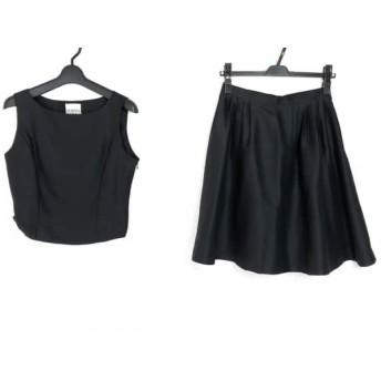 【中古】 ノーマカマリ NORMA KAMALI スカートセットアップ サイズ9 M レディース ダークグレー