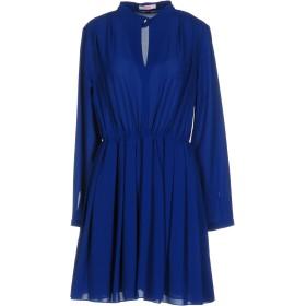 《期間限定セール開催中!》BLUGIRL FOLIES レディース ミニワンピース&ドレス ブルー 40 96% ポリエステル 4% ポリウレタン