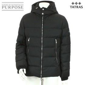 タトラス TATRAS ダウン ジャケット アウター ウール フード付き ZIP 中綿 ブラック サイズ 03 メンズ