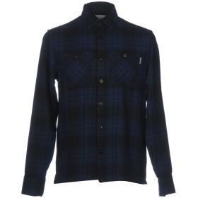 《セール開催中》CARHARTT メンズ シャツ ブルー S 100% コットン