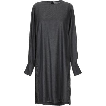 《セール開催中》BRIAN DALES レディース ミニワンピース&ドレス 鉛色 42 ウール 100%