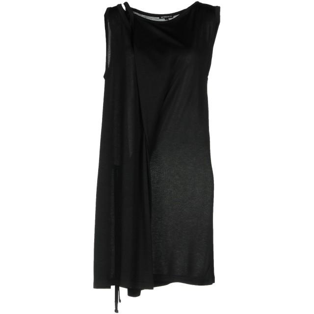 《セール開催中》ANN DEMEULEMEESTER レディース ミニワンピース&ドレス ブラック 38 100% レーヨン