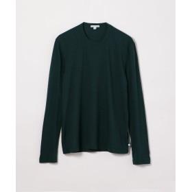 トゥモローランド クルーネック長袖Tシャツ MLJ3351 メンズ 59ダークグリーン 1(M) 【TOMORROWLAND】