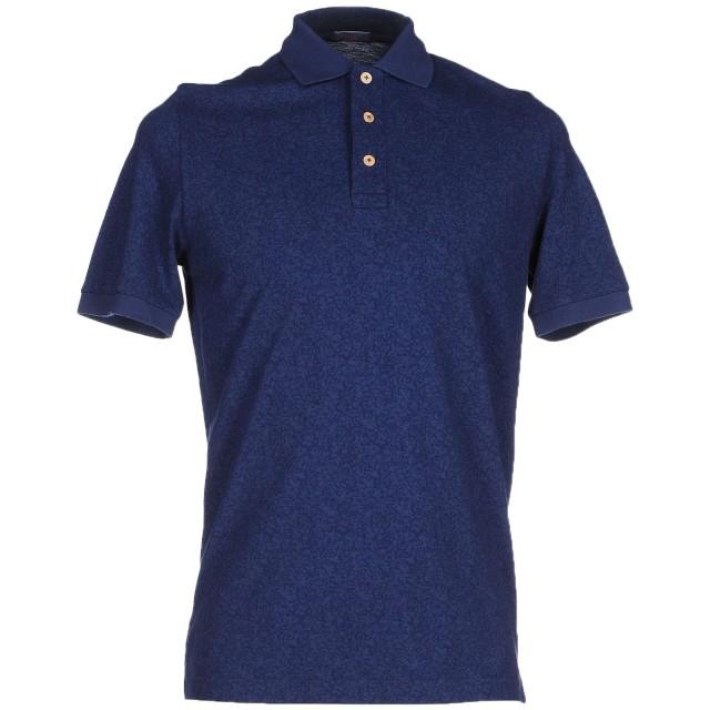 《期間限定セール開催中!》ALTEA メンズ ポロシャツ ダークブルー S コットン 100%