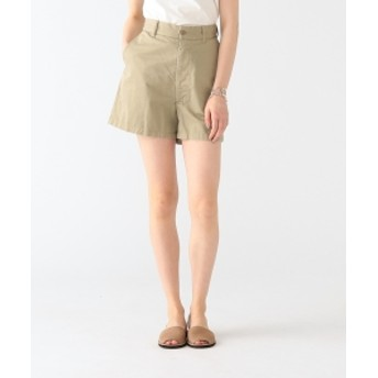 MADISONBLUE / Chino Flare Short Pants レディース ショートパンツ KHAKI 00