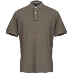 《期間限定セール開催中!》ELEVENTY メンズ ポロシャツ ミリタリーグリーン S コットン 100%