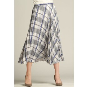 LAUTREAMONT / チェックプリントスカート