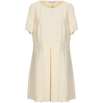 《セール開催中》L' AUTRE CHOSE レディース ミニワンピース&ドレス ベージュ 44 ポリエステル 100%