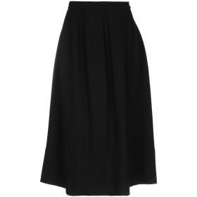 《期間限定セール開催中!》SOHO DE LUXE レディース 7分丈スカート ブラック 40 ウール 52% / コットン 48%
