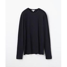 トゥモローランド クルーネック長袖Tシャツ MLJ3351 メンズ ダークブルー 2(L) 【TOMORROWLAND】