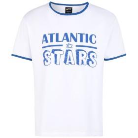 《セール開催中》ATLANTIC STARS メンズ T シャツ ホワイト S コットン 100%